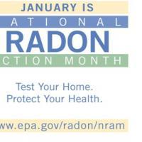 Radon Action Month banner