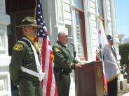 MCSO/MLPD Honor Guard with Sheriff