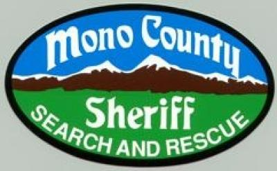 Mono County Sheriff Search and Rescue logo