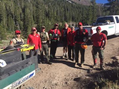 Photo of Mono County Search and Rescue