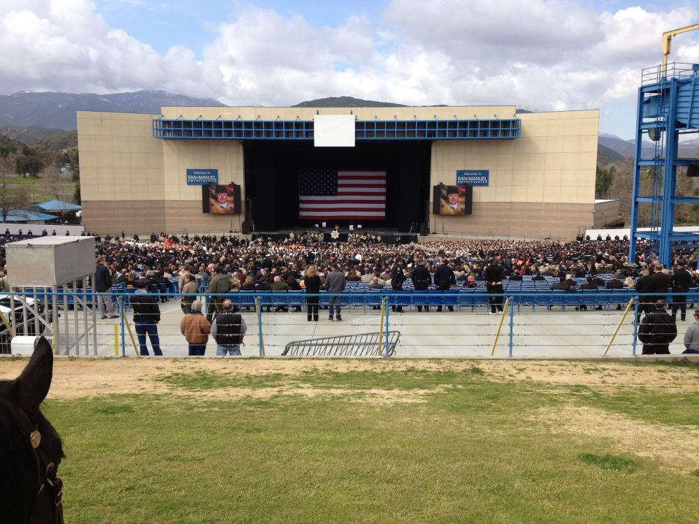 Mono County Sheriffs Office Personnel Pays Final Respects To Fallen