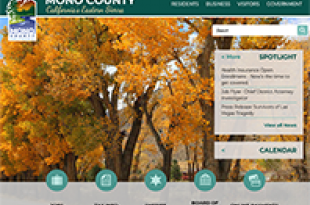Mono County Website image